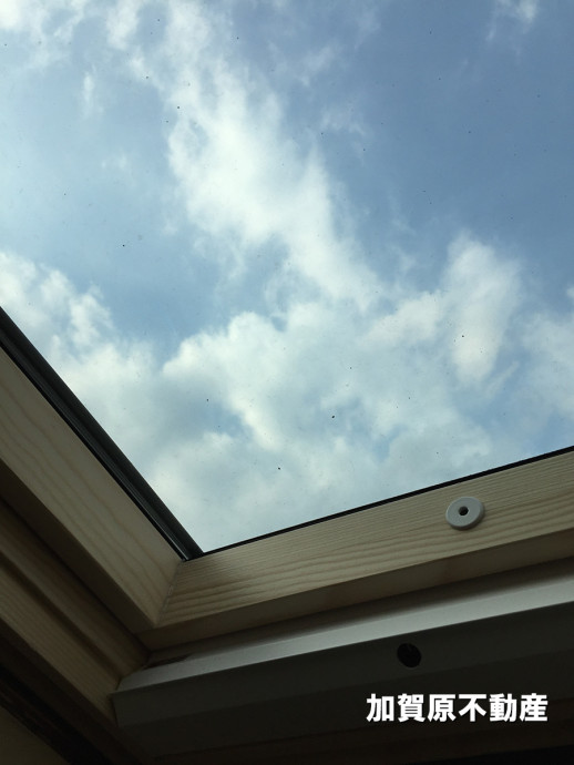 天窓アップ